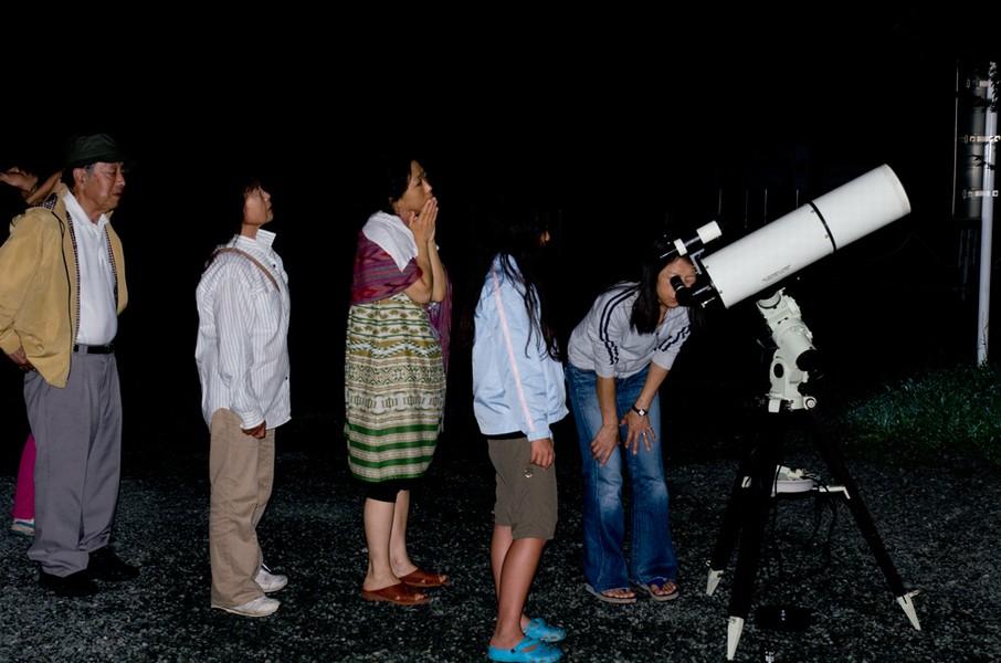 ペルセウス座流星群観測会