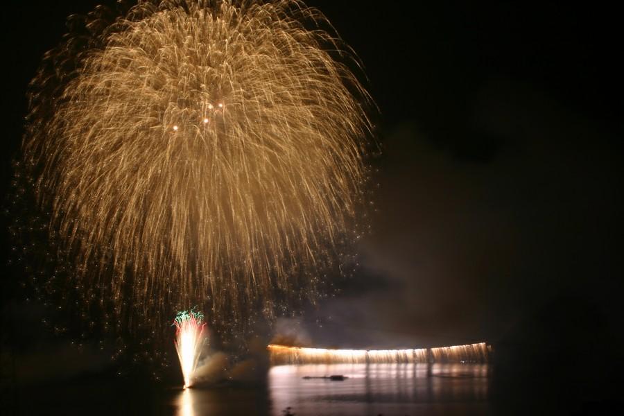 第61回さがみ湖湖上祭花火大会