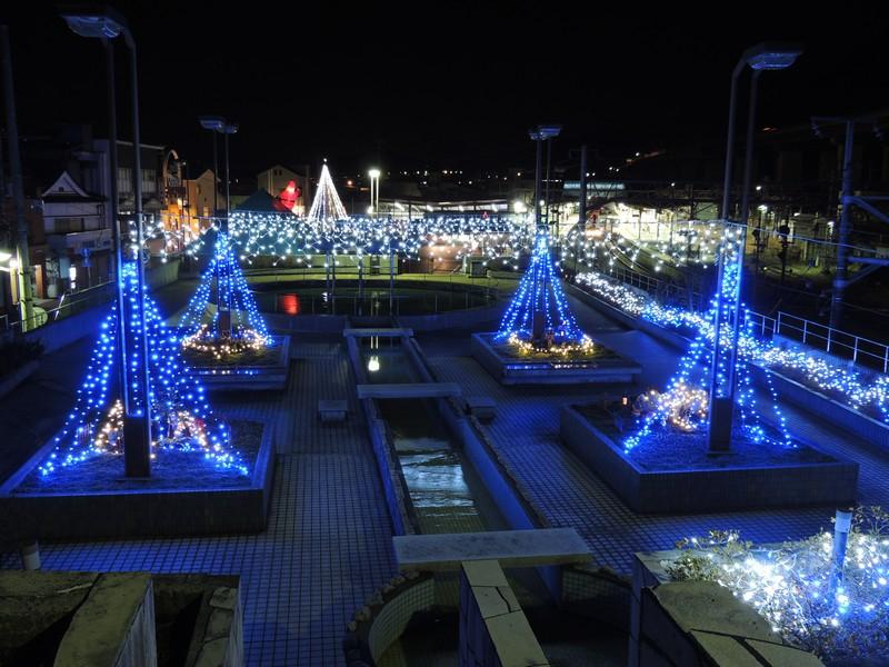 さがみ湖やまなみイルミネーション【2012年12月8日~2013年1月14日】