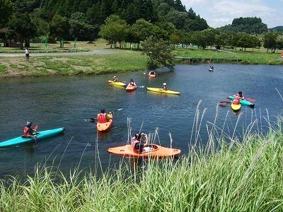 宮ヶ瀬湖カヌースクール(夏)