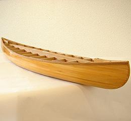 木製カナディアンカヌー