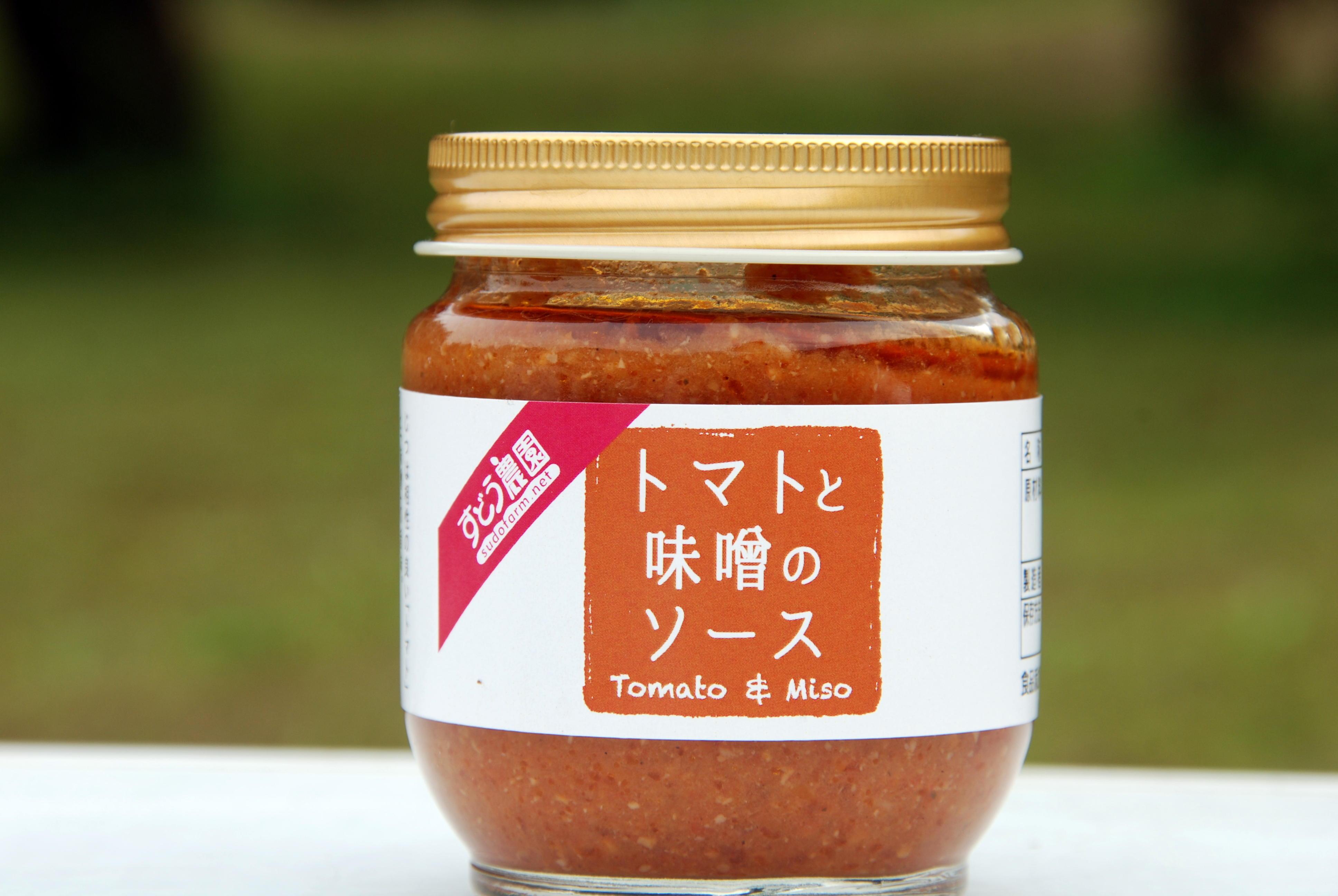 トマトと味噌のソース