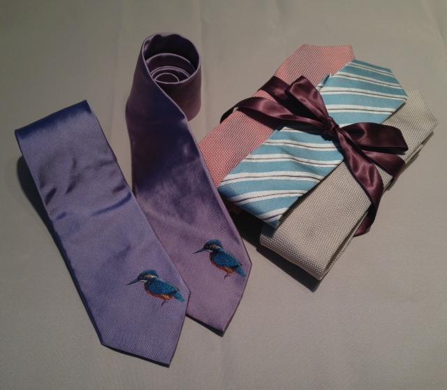 正絹ネクタイ