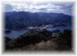 高取山山頂からの眺望