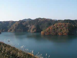 城山湖散策施設