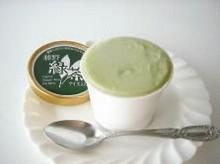 藤野緑茶アイスミルク