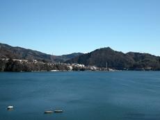 吉野からの相模湖