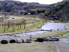 中津川マス釣り場