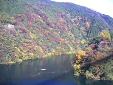 名手橋付近からの津久井湖のタイトル画像