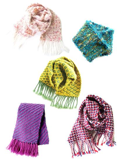 冬はほっこり織り体験!あったかマフラー作り