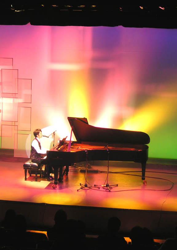 ステージの音響・照明に挑戦!