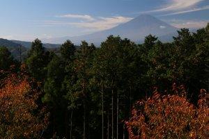 秋の山北町への写真