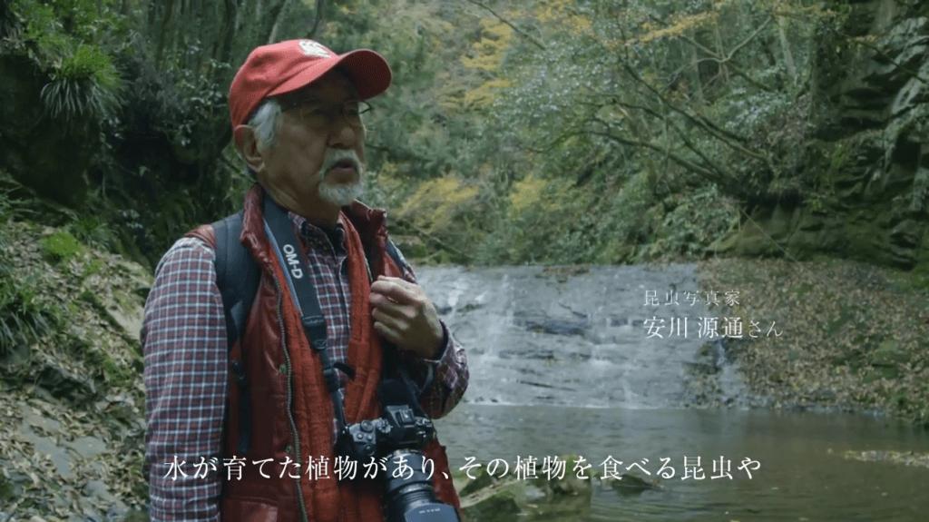 「津久井湖 × 昆虫写真家」ショートバージョン
