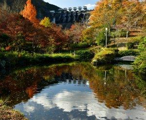 やまなみ五湖で紅葉を楽しもう!の写真