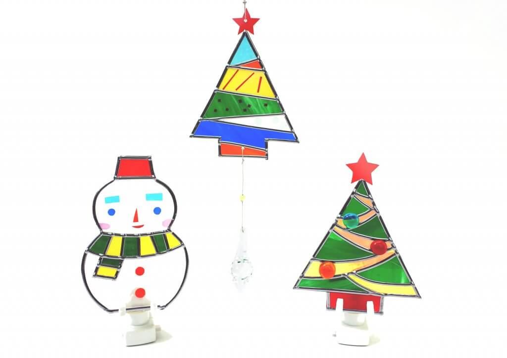 藤野芸術の家クリスマス限定体験工房メニュー  ステンドアート