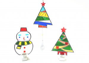 藤野芸術の家クリスマス限定体験工房メニュー  ステンドアートのタイトル画像