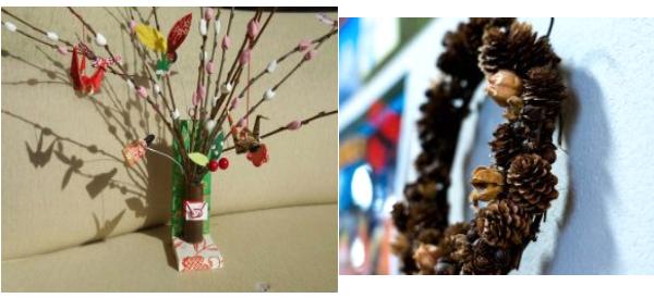 鳥居原自然体験教室(ナチュラルリース・お正月飾り)