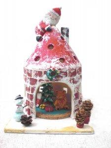 藤野芸術の家 冬限定体験工房メニュー 陶芸・灯りのぬくもり  陶器のおうちのタイトル画像