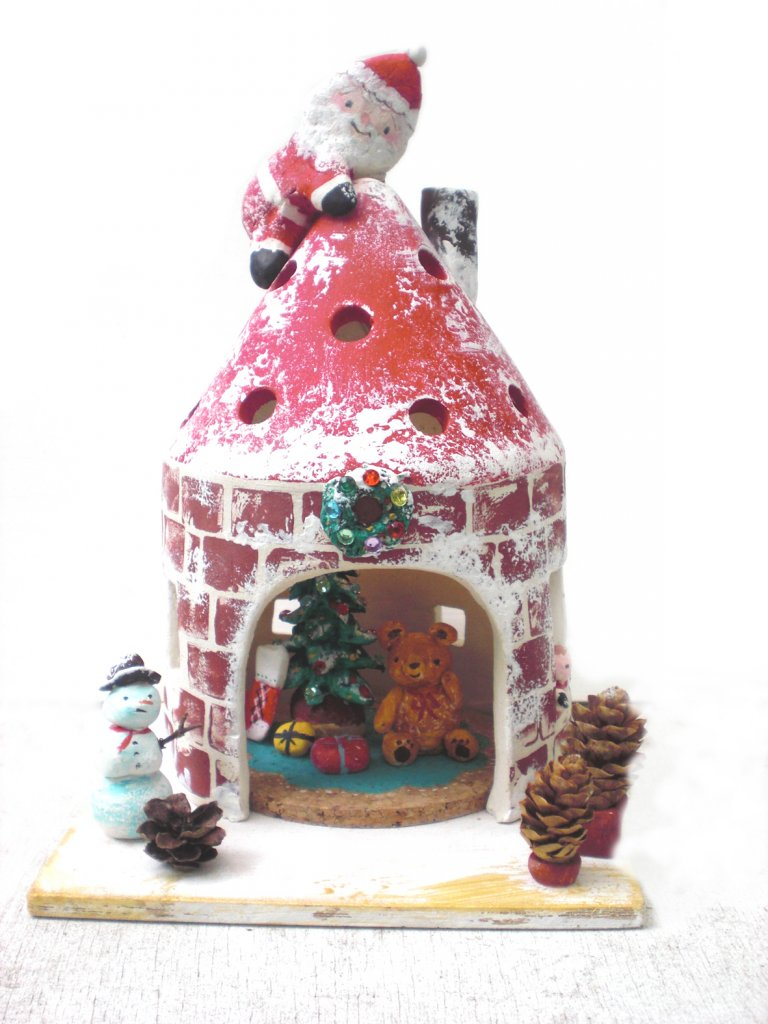 藤野芸術の家 冬限定体験工房メニュー 陶芸・灯りのぬくもり  陶器のおうち