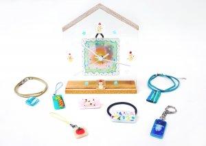 藤野芸術の家 冬限定体験工房メニュー ガラスフュージングで作ろう !