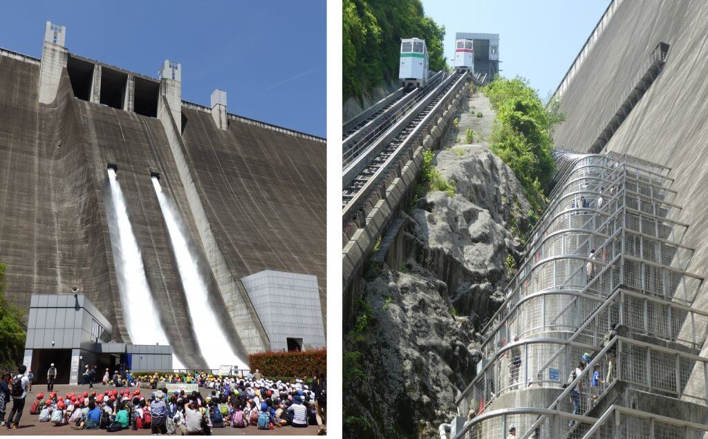 平成31年度宮ヶ瀬ダム観光放流・ダム管理階段開放