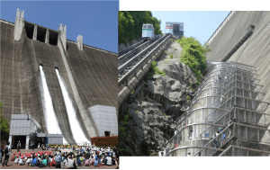 平成31年度宮ヶ瀬ダム観光放流・ダム管理階段開放のタイトル画像