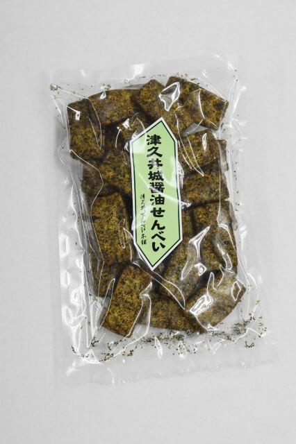 津久井城 醤油せんべい
