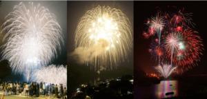 やまなみ五湖 夏の花火大会特集2019の写真