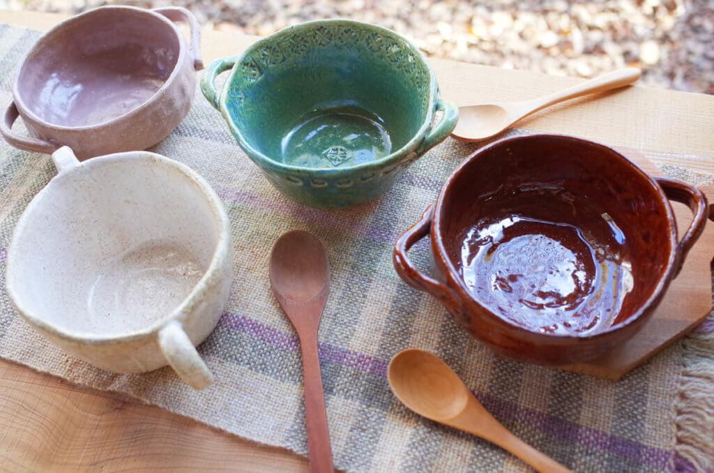 藤野芸術の家 陶芸手びねり 冬の器づくり