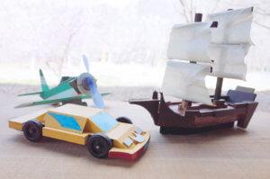 藤野芸術の家 初夏限定 木の工房【木工】NEW!乗り物作りのタイトル画像