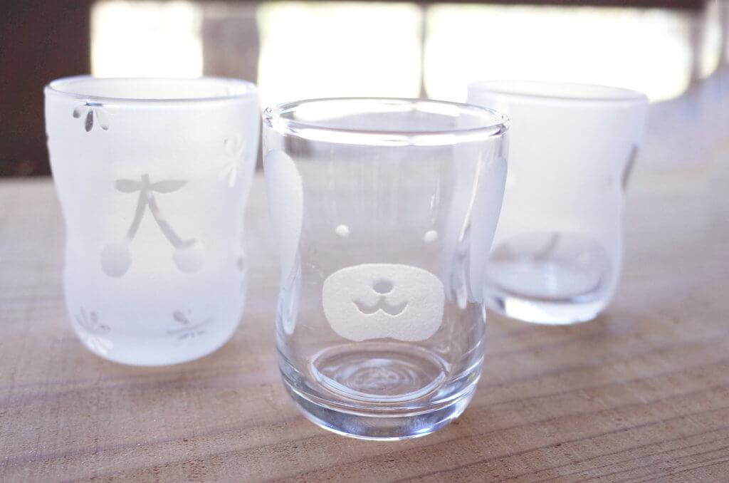体験工房 夏のスペシャル限定キッズメニュー! 自由工房 「サンドブラストで作るキッズグラス」