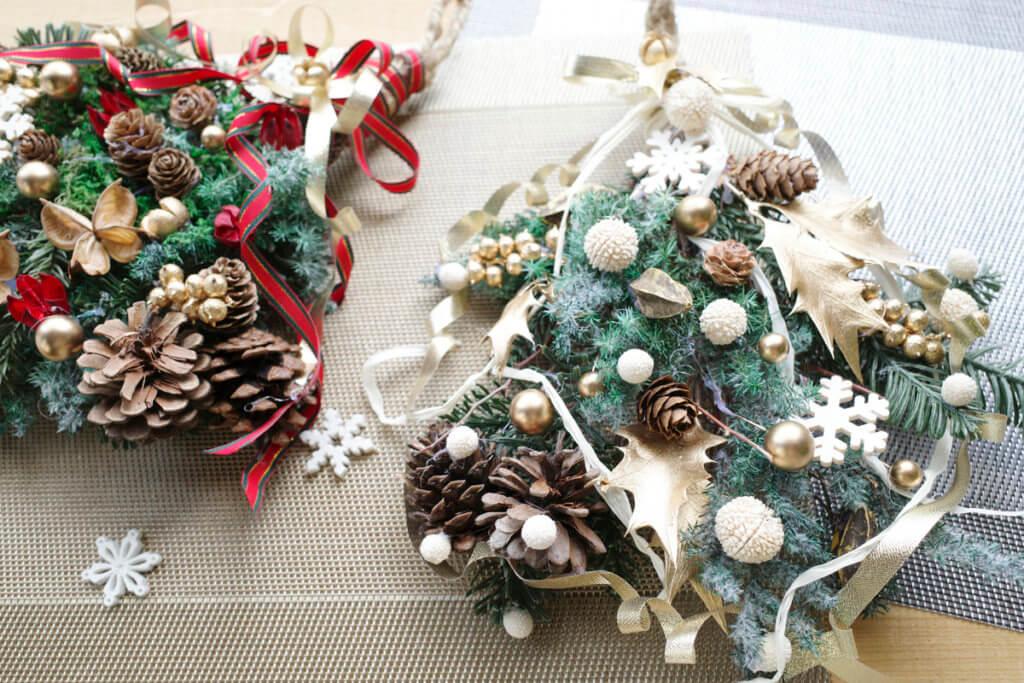 藤野芸術の家 冬限定季節メニュー スワッグ作り