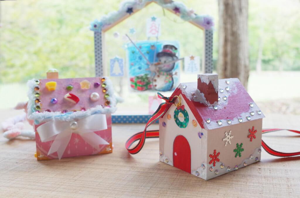 藤野芸術の家 冬限定季節メニュー 木工クラフト おうち時計、トキメキおうち箱