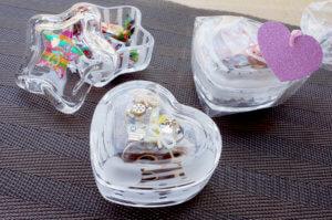 藤野芸術の家 ドキドキ胸キュン♪バレンタイン&ホワイトデーメニュー サンドブラストとUVレジンを組み合わせて作る「ハートor星の小箱」のタイトル画像