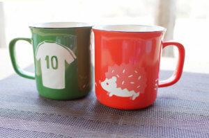 藤野芸術の家 ドキドキ胸キュン♪バレンタイン&ホワイトデーメニュ サンドブラストで作る「ホーロー風マグカップ」のタイトル画像