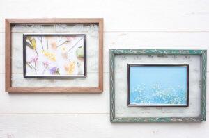 藤野芸術の家 アートで楽しむ春の新生活!サンドブラストで作る木枠のフォトフレーム