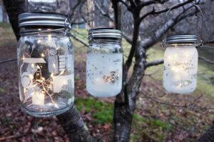 初夏限定季節メニュー サンドブラストで作るガラスのソーラーランタン<自由工房>