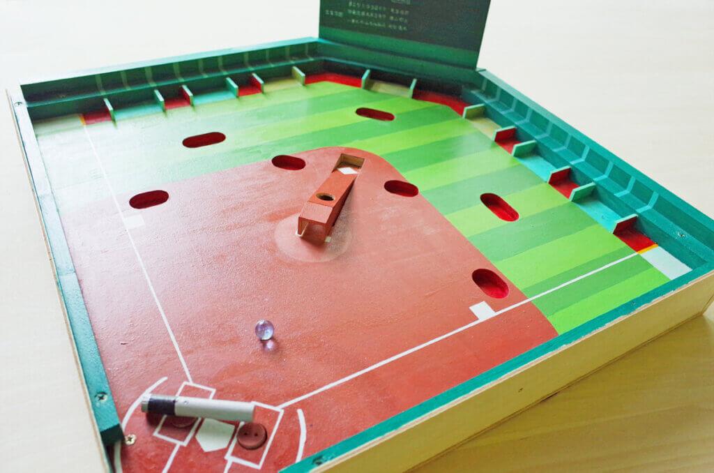 藤野芸術の家  夏のスペシャル限定メニュー ベースボールゲームorカラクリ貯金箱(木の工房)